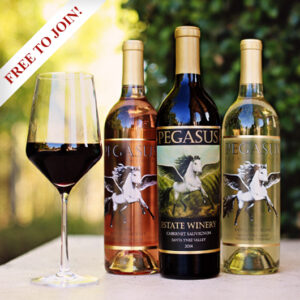Join The Pegasus Estate Winery Wine Club