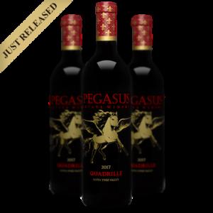 2017 Quadrille Red Blend Pegasus Estate Winery